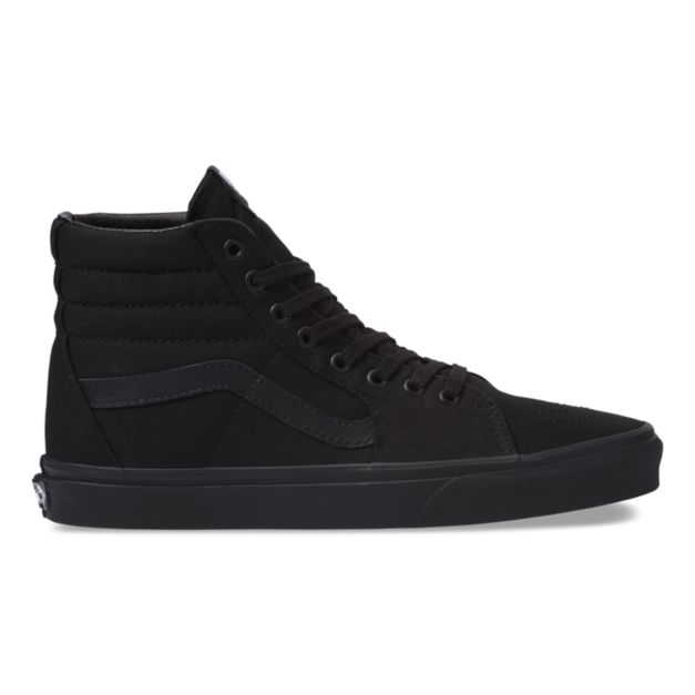 ... Vans - Old Skool Black Hi Tops. Image 1. Image 2. Image 3. See 2 more  pictures de1bbcdb51
