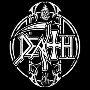 "Death New Logo 4x4"" Printed Sticker"
