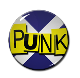 "Scottish Punk 1"" Pin"