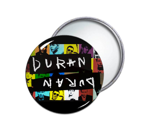 Duran Duran Round Pocket Mirror