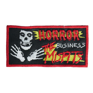 "Misfits Horror Business 5x2.5"" Embroidered Patch"