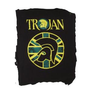 Trojan Records Logo Backpatch Misprinted