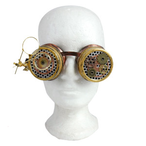 Steampunk Scientist Goggles