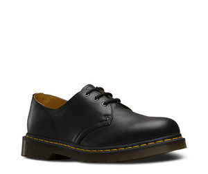 Dr. Martens 1461 Black Nappa 3 Eye Shoes