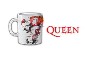 Queen Portrait Coffee Mug