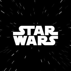 "Star Wars Logo 3.5x3.5"" Printed Sticker"
