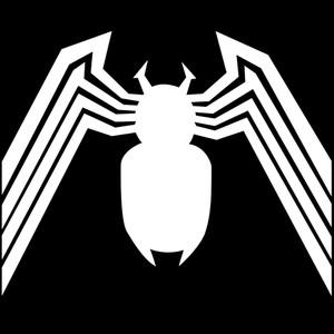 """Venom Spider Logo 3.5x3.5"""" Printed Sticker"""