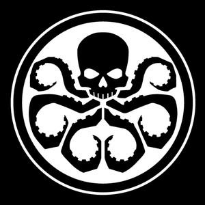 "HYDRA Logo 3.5x3.5"" Printed Sticker"