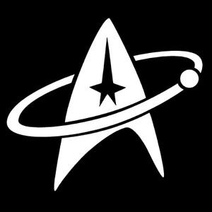 "Star Trek Discovery Logo 3.5x3.5"" Printed Sticker"