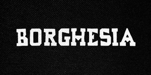 "Borghesia Logo 5x3"" Printed Patch"