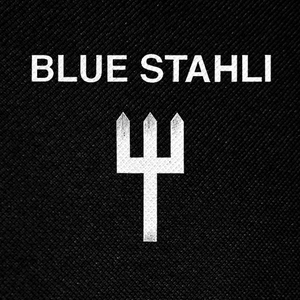 "Blue Stahli Logo 4x4"" Printed Patch"