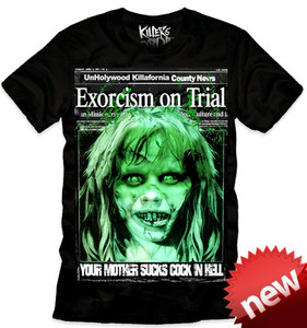 Killers Never Die - Exorcism on Trial T-Shirt
