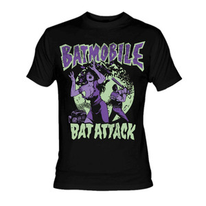 Batmobile Bat Attack T-Shirt
