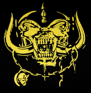 "Motorhead Yellow Warthog 5x4"" Printed Patch"