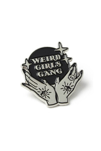 Girl Gang Enamel Pin 1.25""