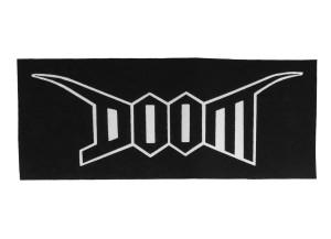 Doom Crooked Backpatch Misprint