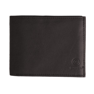 Men's Bi Fold Brown Leather Wallet