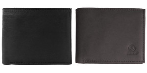Men's Bi Fold Leather Wallet w/ Card Slots
