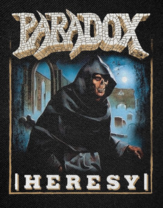 """Paradox - Heresy 12x16"""" Backpatch"""