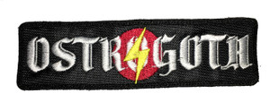 """Ostrogoth 1.5x5"""" Embroidered Patch"""