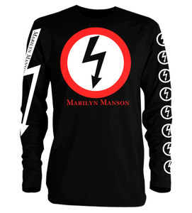 Marilyn Manson Superstar Long Sleeve T-Shirt
