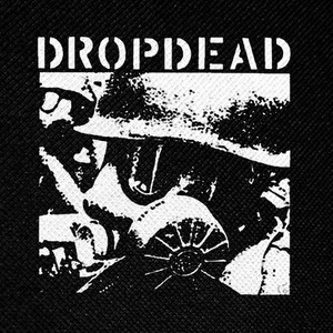 "DropDead Gasmask 4x4"" Printed Patch"