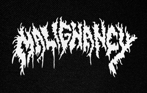 "Malignancy 5x3"" Printed Patch"
