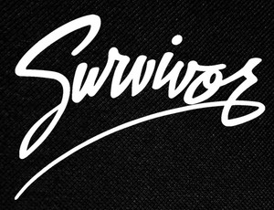 "Survivor 4.5x4"" Printed Patch"