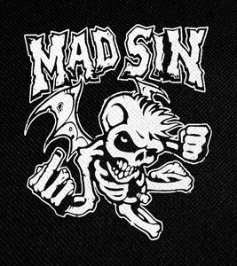 "Mad Sin Angel 4x4.5"" Printed Patch"