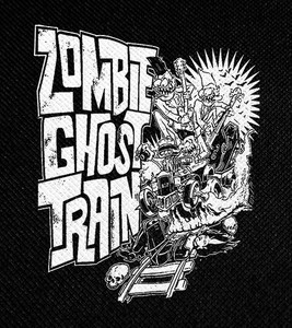 "Zombie Ghost Train 4x4.5"" Printed Patch"