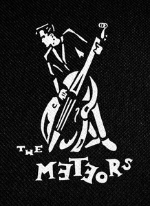 "The Meteors 4x4"" Printed Patch"