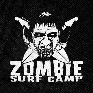 "Zombie Surf Camp 4x4"" Printed Patch"