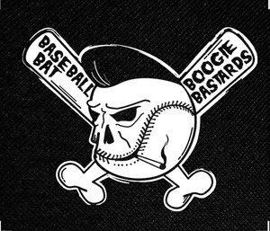"""Boogie Bastards 4x4.5"""" Printed Patch"""