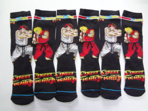 Street Fightet Socks