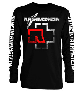 Rammstein Logo Long Sleeve T-Shirt