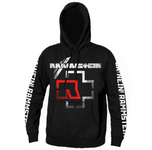 Rammstein Logo Hooded Sweatshirt