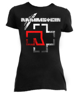 Rammstein Logo Girls T-Shirt