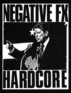 "Negative FX - Hardcore 4x5"" Printed Patch"