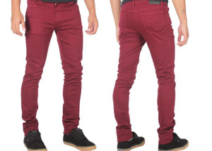 Antifashion - Burgundy Hulk Style Jean Pants