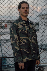Antifashion - Camouflage Denim Jacket