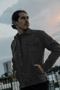 Antifashion - Charcoal Grey Denim Jacket