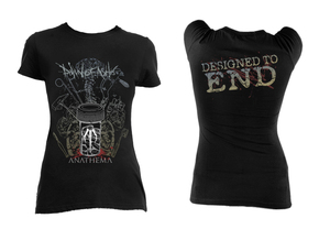 Dawn of Ashes - Designed to End Blouse T-Shirt
