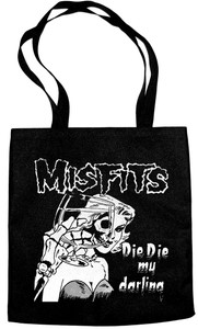 Misfits Die Die Die My Darling Tote Bag