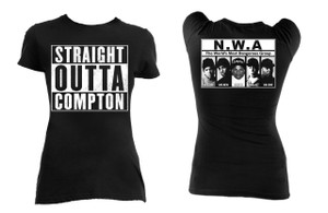 Straight Outta Compton N.W.A. Girls T-Shirt