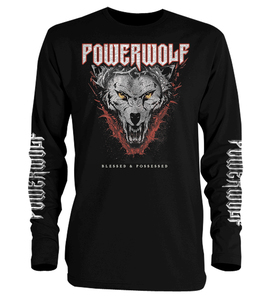 Powerwolf Blessed and Possessed Long Sleeve T-Shirt