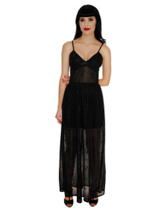 Folter Retrolicious 3677 Spider Web Maxi Dress