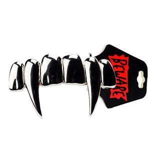 Vampire Fangs Large Metal Belt Buckle