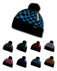 Decky - Pom Pom Changbai Checker Beanie