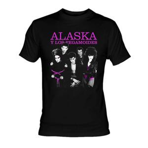 Alaska y los Pegamoides Pic T-Shirt