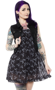 Sourpuss - Black Essential Vest